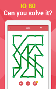 screenshot of 1LINE – One Line with One Touch version 2.0.1