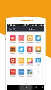 screenshot of 2017 UC Browser Tips version 2.0