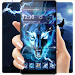 Download 3D blue fire Ice wolf launcher theme 1.2.4 APK
