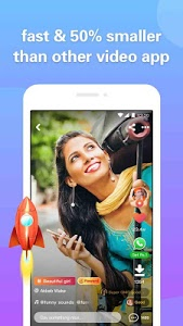 screenshot of 4Fun - Funny Video, Status For WhatsApp,Share&Chat version 2.17