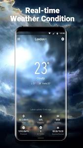 screenshot of 7 Day Weather Report&News version 9.0.3.1300_push