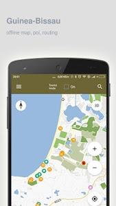Download Guinea-Bissau Map offline 1.76 APK