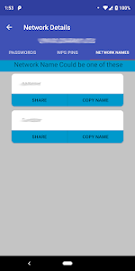 screenshot of AndroDumpper Wifi ( WPS Connect ) version 3.08