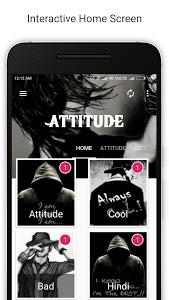 screenshot of Attitude Latest Status 2017 version 1.1