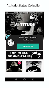 Download Attitude 2018 Latest Status and DP 3.1 APK