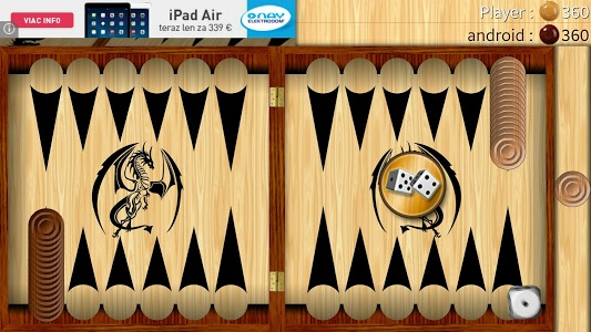 screenshot of Backgammon - Narde version 5.08