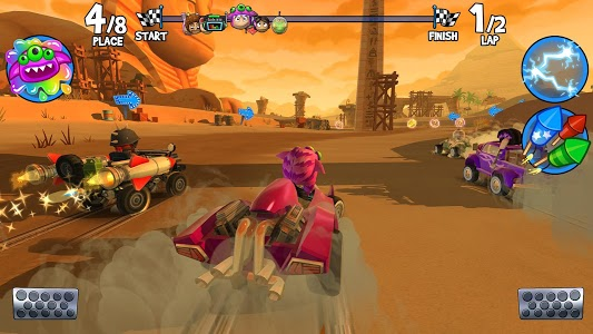 screenshot of Beach Buggy Racing 2 version 1.1.0