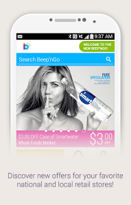 screenshot of Beep'nGo - Loyalty & Coupons version 3.4.4