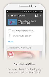screenshot of Beep'nGo - Wallet & Coupons version 4.2.2