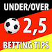 Download Betting Tips : 2,5 Under/Over 1.0 APK