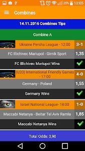 screenshot of Betting Tips version 5.2