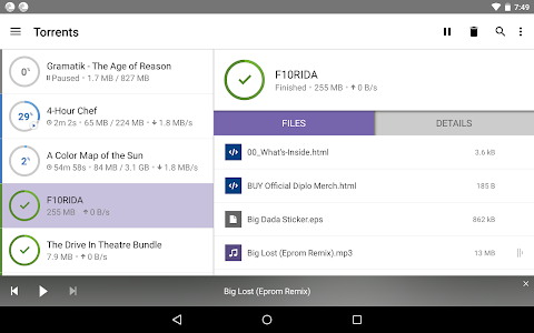screenshot of BitTorrent®- Torrent Downloads version 3.38