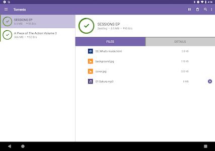 screenshot of BitTorrent®- Torrent Downloads version 5.2.2