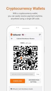 screenshot of Bithumb version 1.7.4