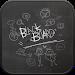 Download Blackboard go launcher theme 1.2 APK