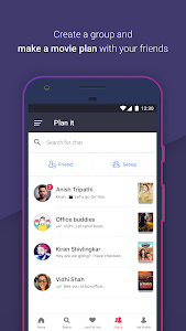 screenshot of BookMyShow Entertainment version Varies with device
