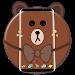 Download Brown Bear Cartoon Theme 1.1.10 APK
