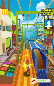 screenshot of Subway surf: Subway Rush 3D 2017 version 1.1