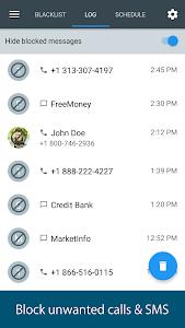 screenshot of Calls Blacklist - Call Blocker version Varies with device