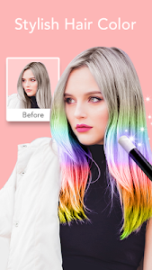 screenshot of Face Filter, Selfie Editor - Sweet Camera version 1.4.8