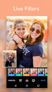 screenshot of Beauty Cam - Selfie Editor version 1.0.0