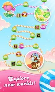 screenshot of Candy Crush Jelly Saga version 1.46.9