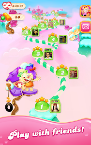 screenshot of Candy Crush Jelly Saga version 1.32.4