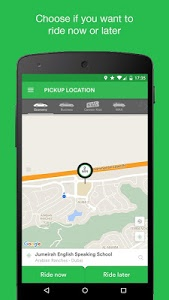 screenshot of Careem - Car Booking App version 8.1.0