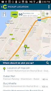 screenshot of Careem version 3.8