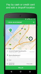screenshot of Careem - Car Booking App version Varies with device