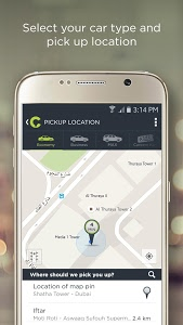 screenshot of Careem version 4.0