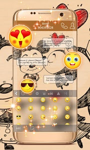 Download Cartoon Keyboard Theme 1.307.1.110 APK