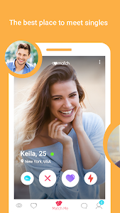 screenshot of W-Match: Dating App, Flirt & Chat version Varies with device