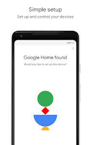 screenshot of Google Home version 1.30.43.17