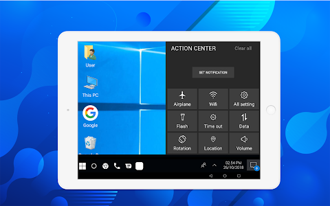 screenshot of Computer launcher PRO 2018 for Win 10 themes version 6.1