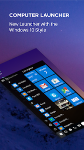 Download Computer launcher PRO 2018 for Win 10 themes 4.6 APK