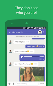screenshot of Connected2.me Chat Anonymously version 2.6.1