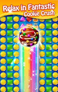 screenshot of Cookie Mania - Sweet Match 3 Puzzle version 8.2.3189
