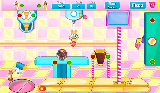 screenshot of Cooking Ice Cream Cone Cupcake version 9.0