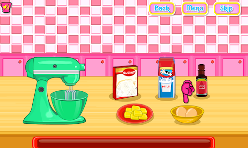 screenshot of Cooking Ice Cream Cone Cupcake version 2.1.4