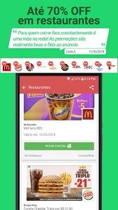 screenshot of Cuponeria- Free Coupons Brazil version 3.2.10
