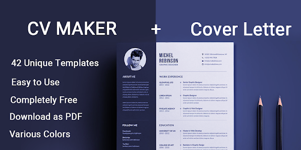 Download Curriculum vitae App CV Builder Resume CV Maker 5.0 APK