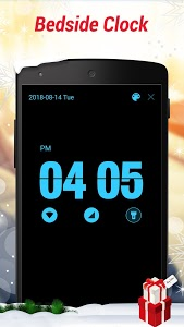 screenshot of Digital Alarm Clock - Bedside Clock, Stopwatch version 1.4.3