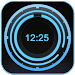 Download Digital Clock Disc Widget 1.6.0 APK