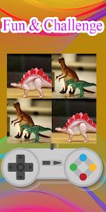 screenshot of Dinosaur Puzzle Game version 3.0