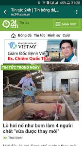 screenshot of Đọc Báo Tùy Thích, doc bao, tin tuc, news version 2.9.1