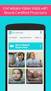 screenshot of Doctor On Demand version 3.13.4