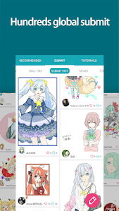 screenshot of DrawShow: Anime Manga Tutorial version 3.1.2.0