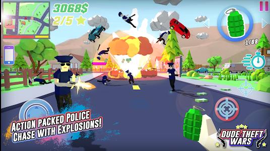 Download Dude Theft Wars: Open World Sandbox Simulator BETA 0.83b2 APK