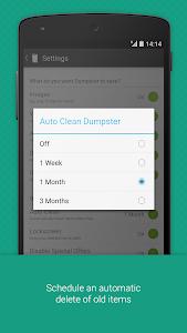 screenshot of Dumpster Photo & Video Restore version 2.11.242.59082